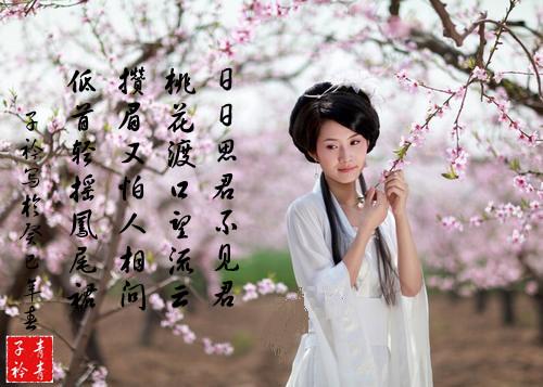 原创:七律·春日抒怀 (新韵、插图) - 芳  草  美  人 - 芳 草 美 人
