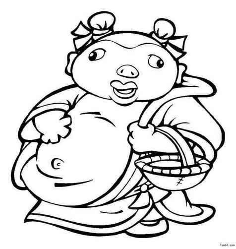 动漫 简笔画 卡通 漫画 手绘 头像 线稿 476_502