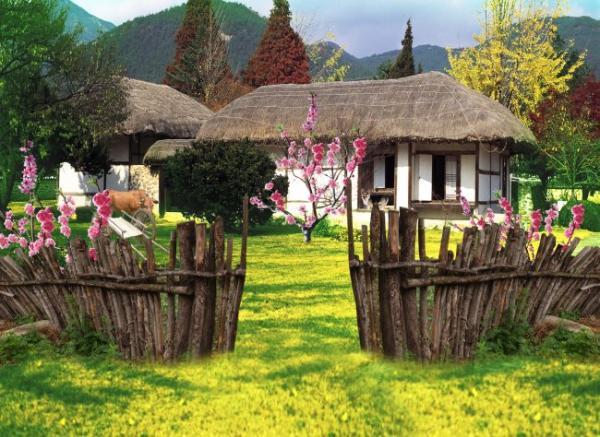 农家小院_图片_济宁   旅游区; 农家小院   农家小院设计 效