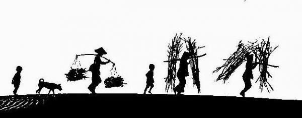 关于古代人劳动的诗句【带作者的】-形容古代女人