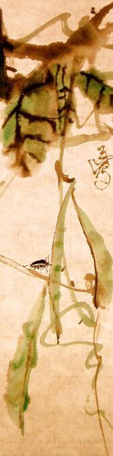 (原创)雨山水墨:一夜乱涂2017.7.22 种豆应得豆 续 - baigu0 - 诗画雨山