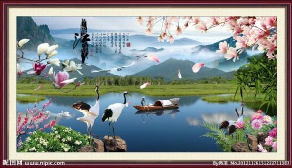 描写自然风光的诗句有哪些?