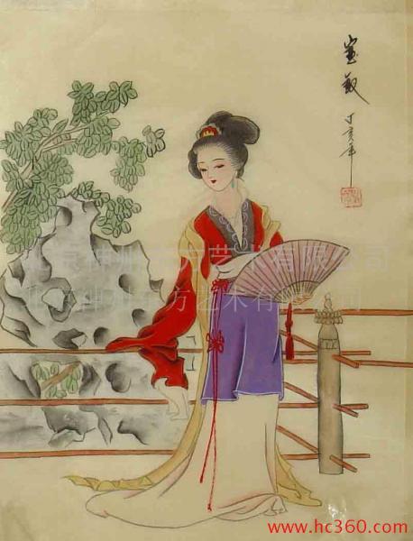 琵琶公主 红楼梦中的女人 薛宝钗 诗词吾爱网