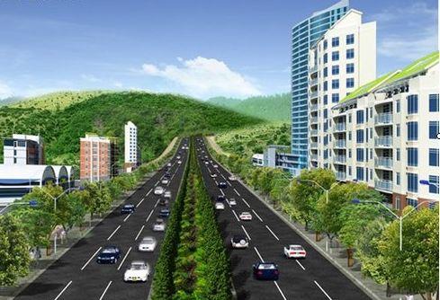 丹寨东湖绿道风景描述
