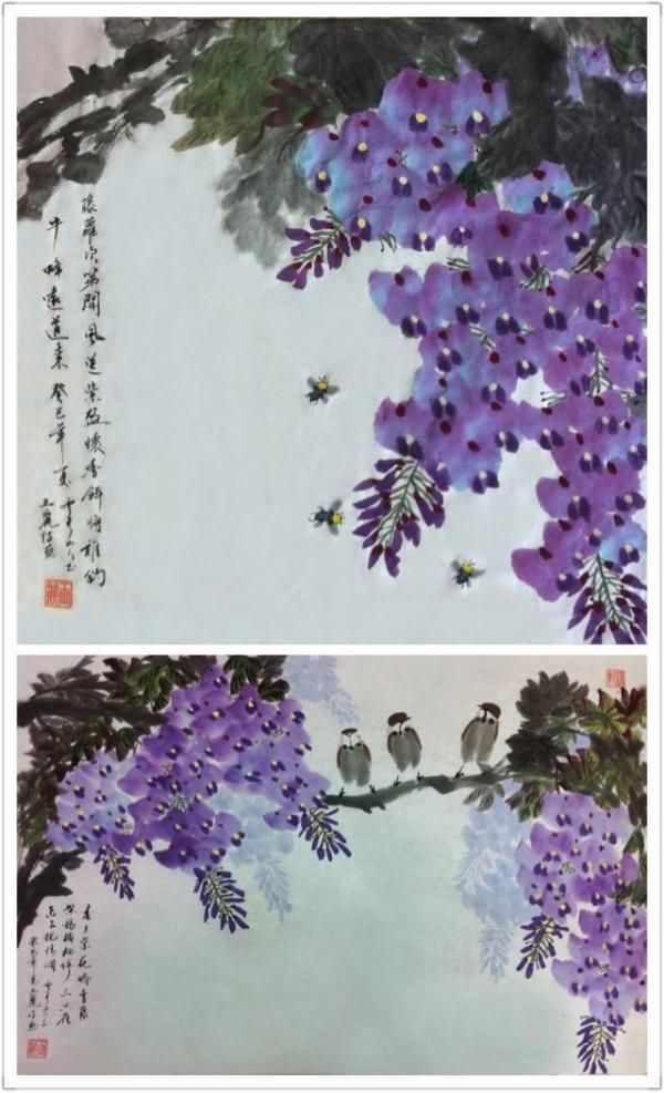 五律·浅和绮丽君诗画 - 怡情园主 - 一片净土蓝色怡园为您开启舒适温馨的大门!