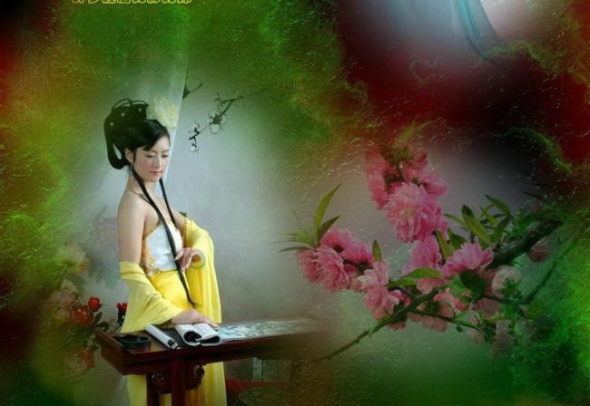 中华新韵《诉衷情令》夕照晚情  文/无忧女  秋月和《叹红颜》(几多愁、庄妮) - 秋月 - 秋月