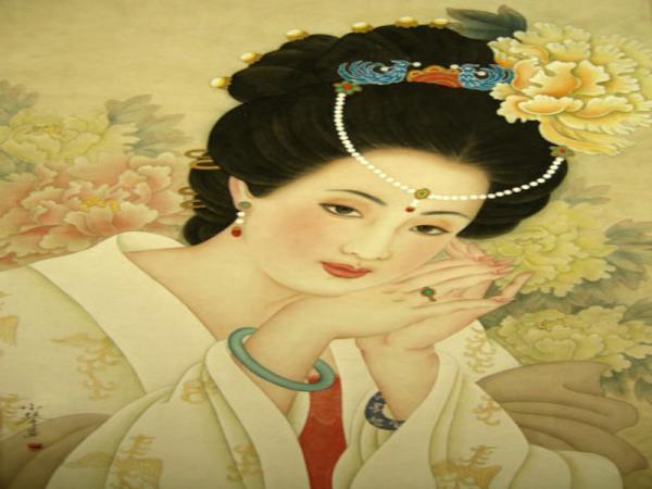 中国四大美女四杨玉环